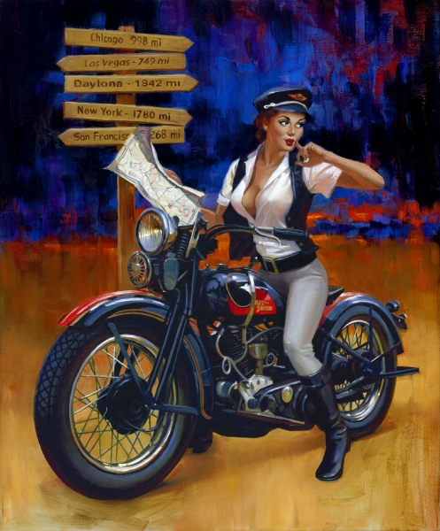 """Art Of The Pinup: """"Crossroads"""""""