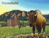 Forever Buffs Wooden Puzzle by Brad Gorman
